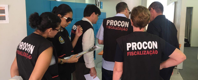 Procon Jaboatão realiza ação de fiscalização nos bancos