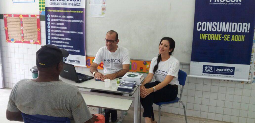 Procon Jaboatão presente na Ação de Mobilização Municipal Cidadã