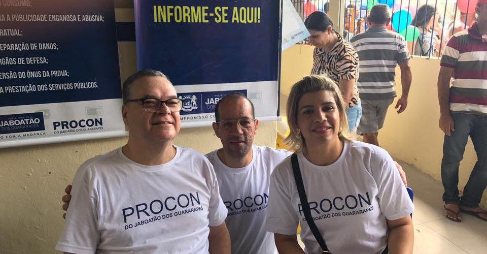 Procon Jaboatão participa de ação social da prefeitura em parceria com o Governo Presente