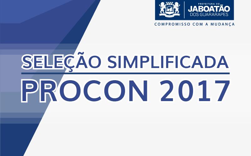 Procon Jaboatão realiza Seleção Simplificada para contratação de assessores jurídicos e fiscais