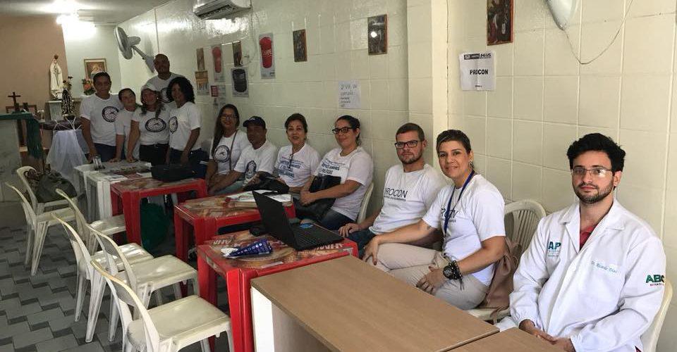 Procon Jaboatão participa de ação social na comunidade do Vietnã, em Piedade