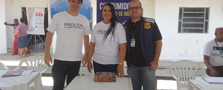 Procon Jaboatão participa de ações integradas Mais Jaboatão, em Cajueiro Seco